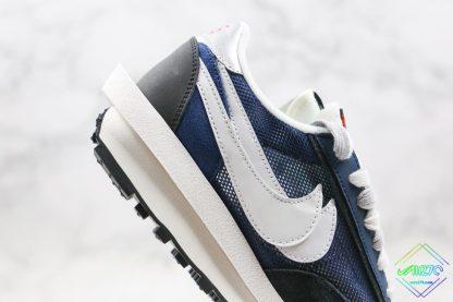 Sacai x Nike LVD Waffle Daybreak Flint Blue double design swoosh