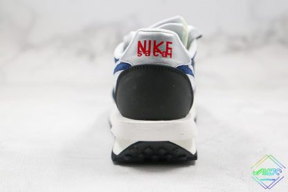 Sacai x Nike LVD Waffle Daybreak Flint Blue heel