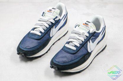 Sacai x Nike LVD Waffle Daybreak Flint Blue sneaker