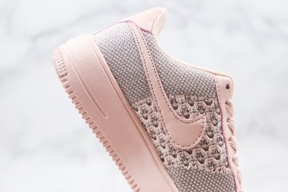 Womens Nike Air Force 1 Flyknit 2.0 Pink Medial