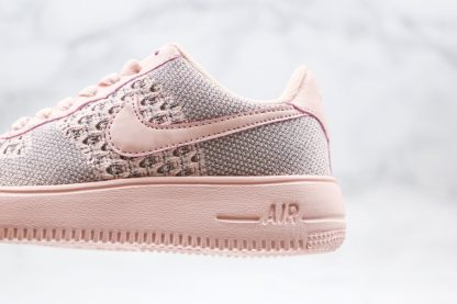 Womens Nike Air Force 1 Flyknit 2.0 Pink Panel