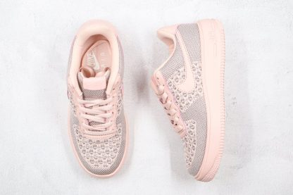 Womens Nike Air Force 1 Flyknit 2.0 Pink Sale