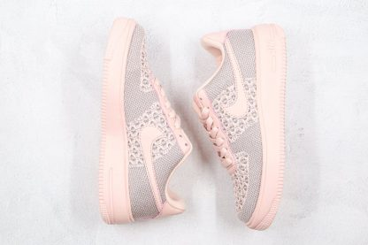 Womens Nike Air Force 1 Flyknit 2.0 Pink Top