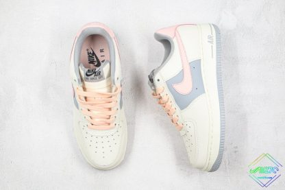 2020 Air Force 1 Low Pink White Grey lace