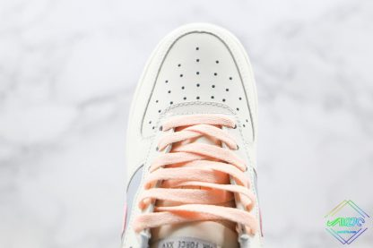 2020 Air Force 1 Low Pink White upper