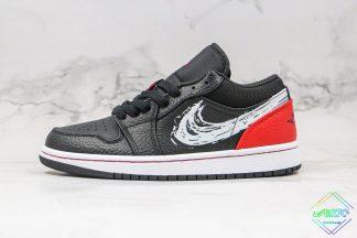 Air Jordan 1 Low Brushstroke Swoosh