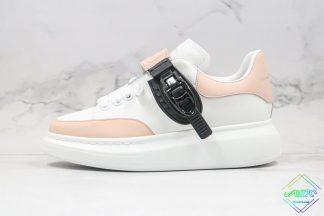Alexander McQueen White Light Pink