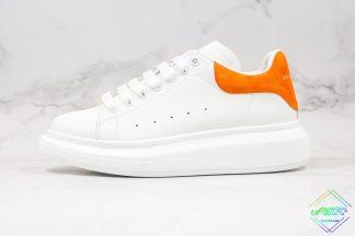 Alexander McQueen White Orange