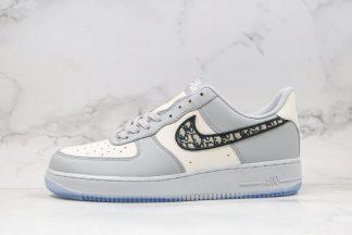 Dior x Nike Air Force 1 07 LV8 Customs Grey