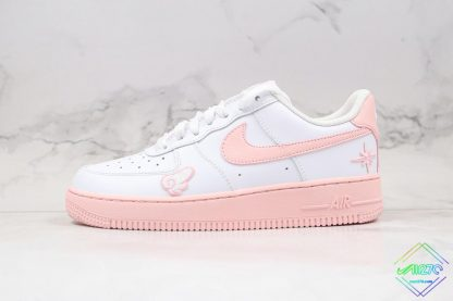 GS Nike Air Force 1 Low White Pink Foam