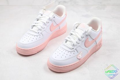 GS Nike Air Force 1 Low White Pink Foam for sale