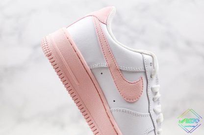 GS Nike Air Force 1 Low White Pink Foam lateral