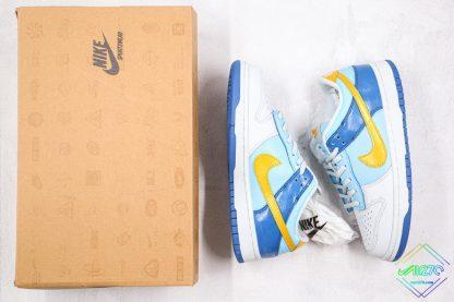 GS Nike Dunk Low Splash yellow swoosh