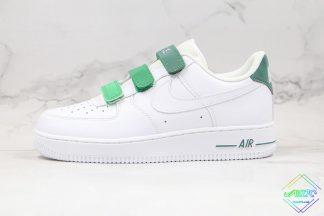 Nike Air Force 1 One White Green