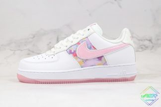 Nike Air Force 1 White Light Arctic Pink