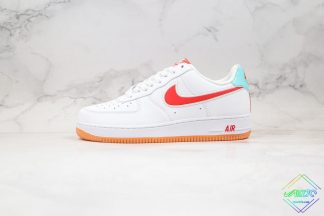 Air Force 1 Low SE White Red Swoosh