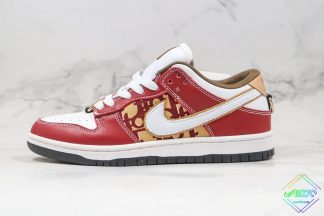 Dior X Nike SB Dunk Low Pro Burgundy