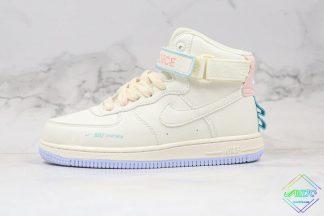 Kids Nike Sportswear Air Force 1 High Beige