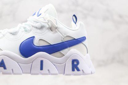Nike Air Barrage Low Aqua White Blue midsole