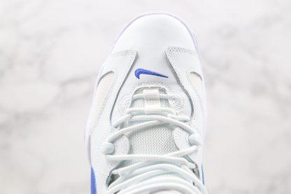 Nike Air Barrage Low Aqua White Blue upper