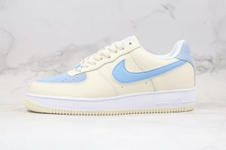 Nike Air Force 1 Low '07 Beige Off White Blue
