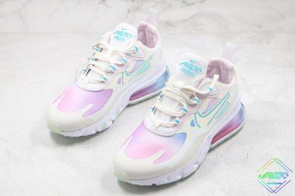 Nike Air Max 270 React SE Bleached Aqua shoes