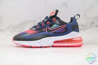 Nike Air Max 270 React SE Midnight Navy Crimson