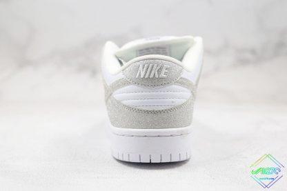 Nike SB Dunk Low Silver Shiny heel