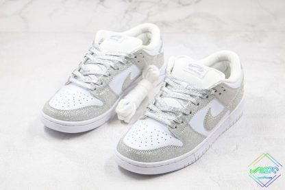 Nike SB Dunk Low Silver Shiny shoelace