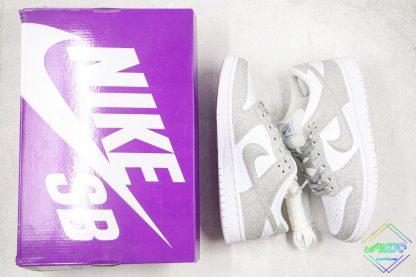 Nike SB Dunk Low Silver Shiny sneaker