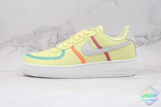 Air Force 1 Low Life Lime Inside Out line