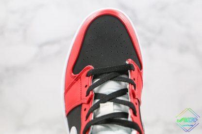 Air Jordan 1 Mid Gym Red Chicago black upper