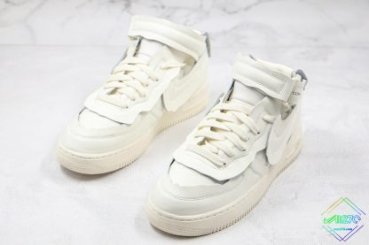 Comme des Garcons x Nike Air Force 1 Mid close look