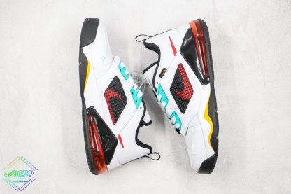 Jordan Mars 270 White Jade Orange sneaker