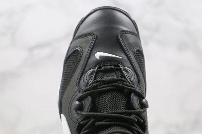 Nike Air Barrage Black White upper
