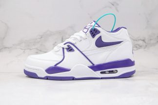 Nike Air Flight 89 White Court Purple