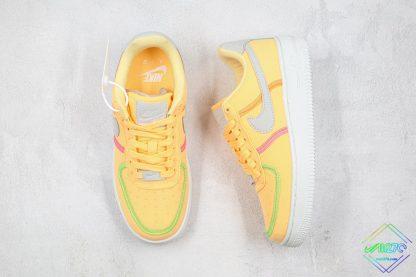 Nike Air Force 1 07 LX Life Lime Melon Tint tongue