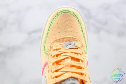Nike Air Force 1 07 LX Life Lime Melon Tint upper