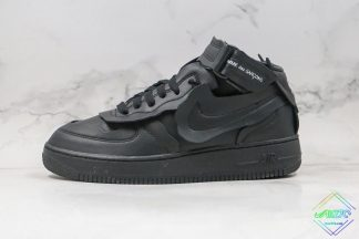 Nike Air Force 1 Mid x Comme des Garons Black