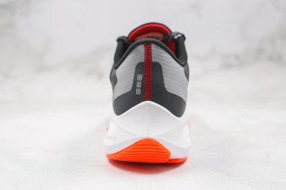 Nike Air Zoom Winflo 7 Black Total Orange heel