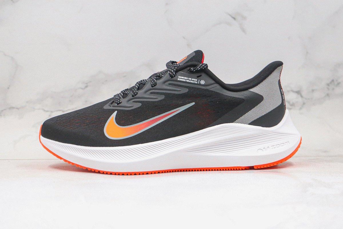 Nike Air Zoom Winflo 7 Black Total Orange