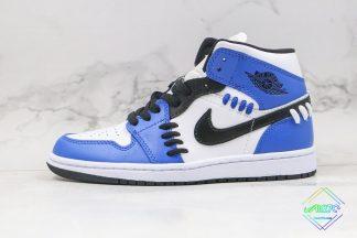 Air Jordan 1 Mid Sisterhood Royal Blue
