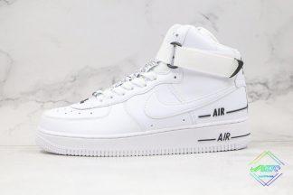 Dual Air White Black Nike Air Force 1 High