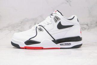 Nike Air Flight 89 White Black Grey Red