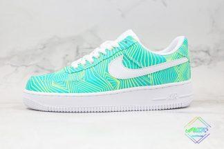 Nike Air Force 1 Green Geometry