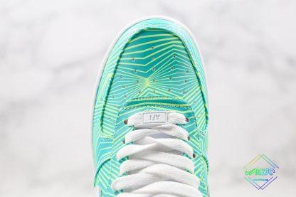 Nike Air Force 1 Green Geometry upper