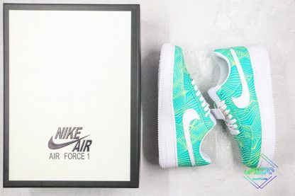 Nike Air Force 1 Green Geometry with box