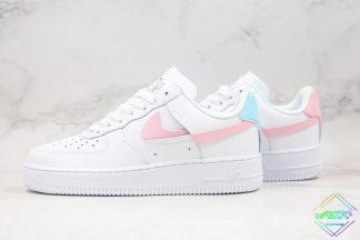 Nike Air Force 1 LXX White Pink Aqua
