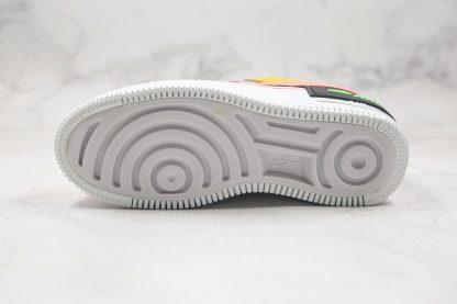 Nike Air Force 1 Shadow SE Furry Velour bottom