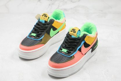 Nike Air Force 1 Shadow SE Furry Velour sneaker